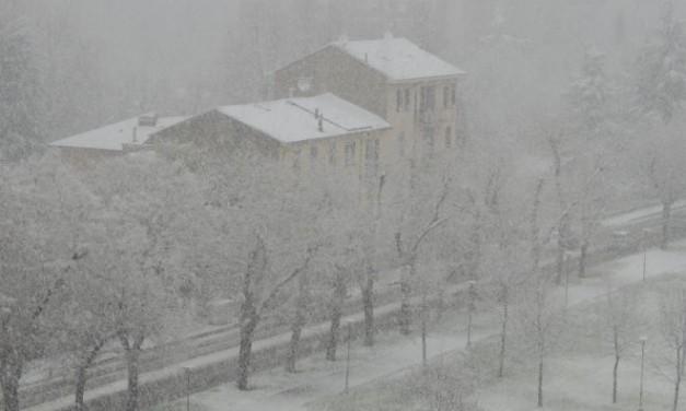 Allerta arancione per neve. Il maltempo si affaccia in provincia di Alessandria