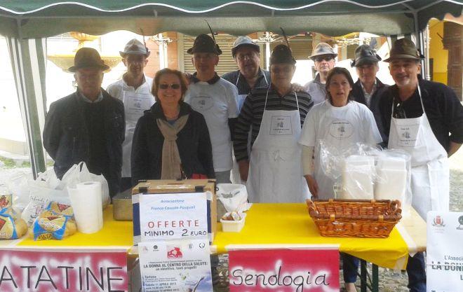 A Castelnuovo ci sono le patate per aiutare la Senologia di Tortona in 5 progetti