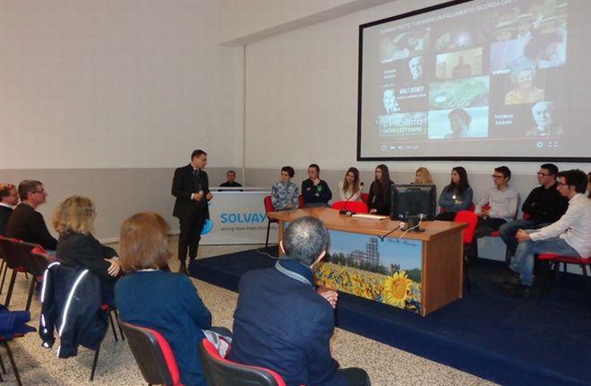 """Stage alla Solvay per 10 studenti dell'istituto """"Marconi"""" di Tortona"""