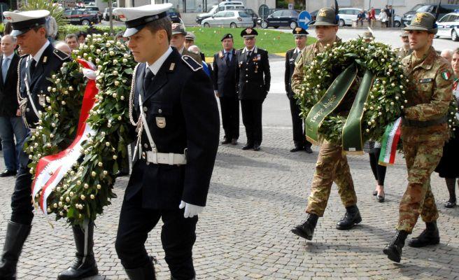 Le celebrazioni del 25 aprile a Voghera