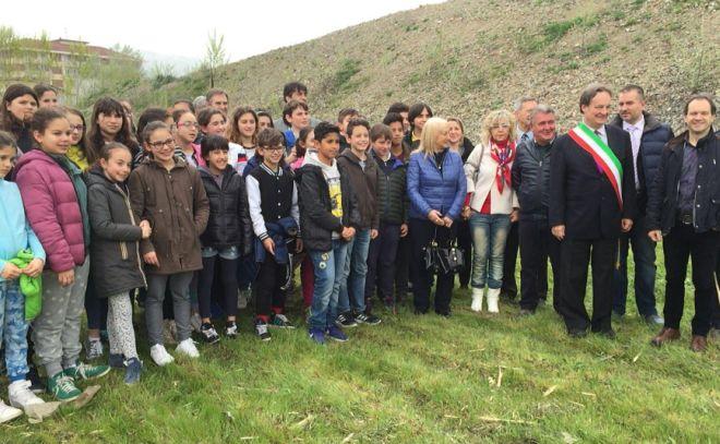 Ad Acqui inaugurati i cantieri per la costruzione di due nuove scuole