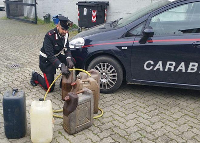 Sale, arrestati dai carabinieri due tortonesi che tentavano un nuovo furto all'oleodotto