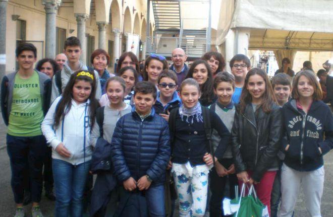Il Consiglio comunale dei ragazzi di Tortona a Novara