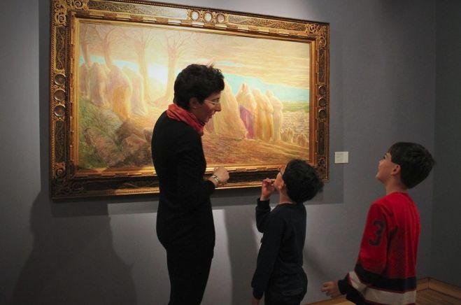 Anche i bambini scoprono la Pinacoteca della Fondazione Cassa di Risparmio di Tortona