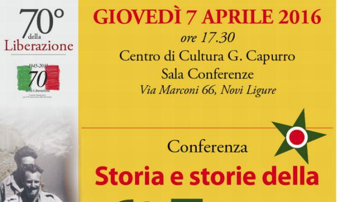 A Novi si celebra già il 25 aprile
