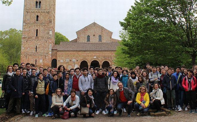 Gli studenti del Marconi in Romagna