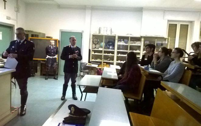 Gli studenti del Liceo Peano a scuola di sicurezza stradale