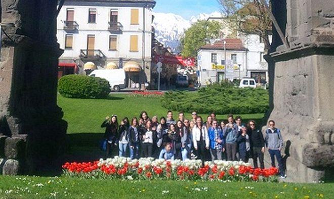 Gli studenti del Marconi alla scoperta dell'antica Aosta