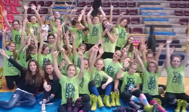 I bambini della Vochieri di Alessandria terzi alle olimpiadi di danza a Verona