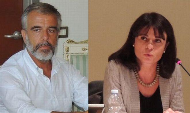"""Enrica Pavione presenta il libro """"Le tre scelte della vita"""" col sindaco Bardone"""