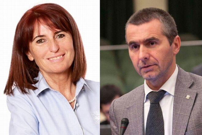 Massimo Berutti e Daniela Ruffino in difesa dei precari della scuola