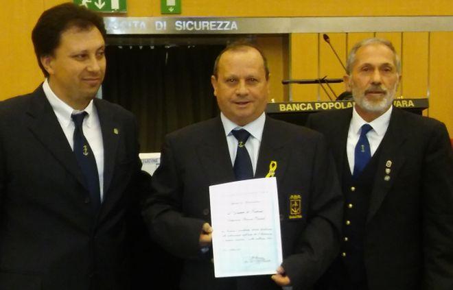 I marinai tortonesi a Novara per la riunione dei presidenti Anmi