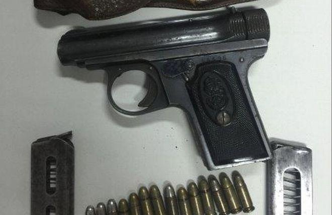 Alessandrino nei guai per una pistola