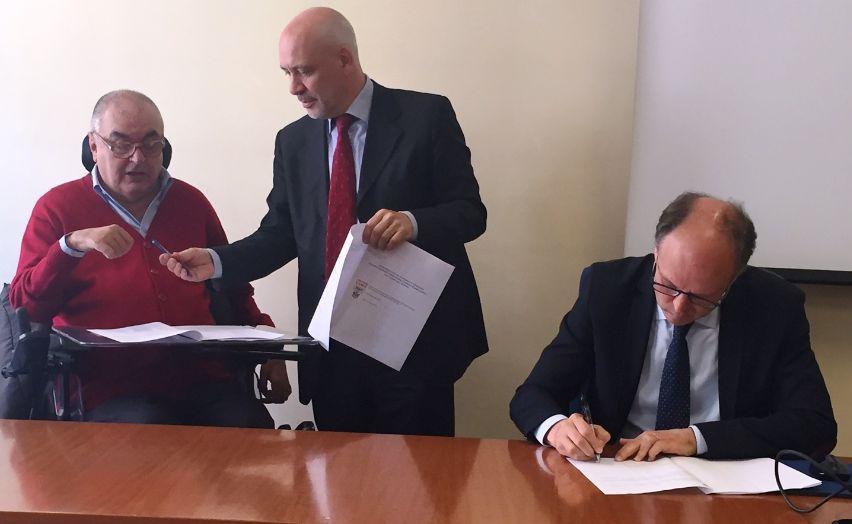 Ad Alessandria firmato un Protocollo d'intesa per aiutare i disabili