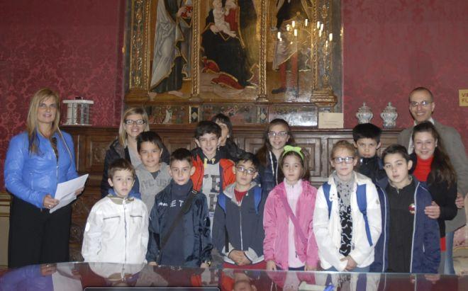 Proseguono le visite guidate a Palazzo Ghilini per gli studenti del territorio , e non solo