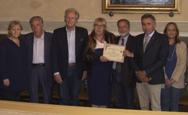 Il Rotary di Novi ha premiato la volontaria Fiorella Romagnollo