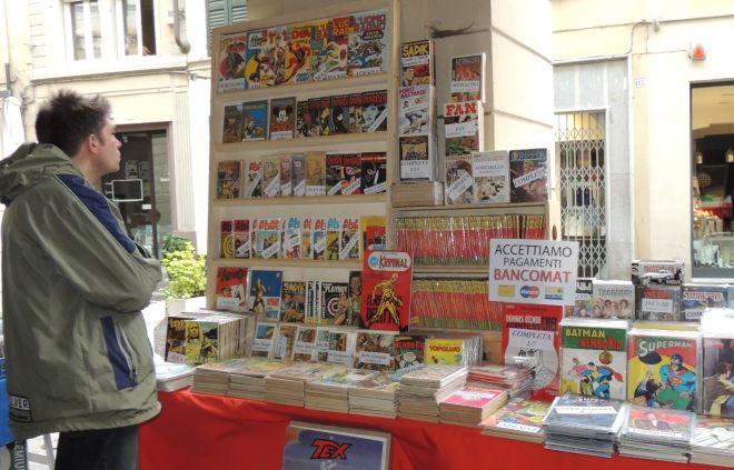 Il banchetto coi fumetti tra i più pregiati