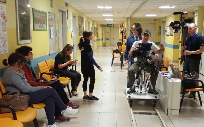 L'ospedale di Alessandria é diventato un set cinematografico