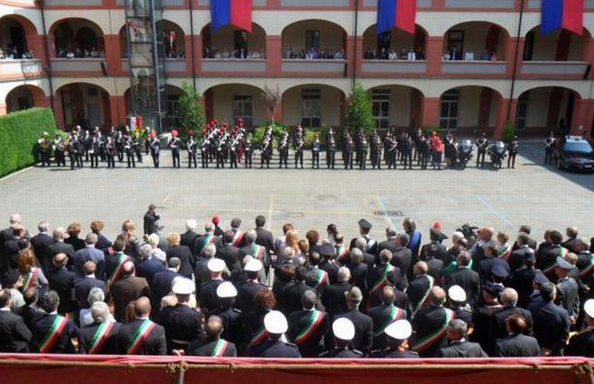 Ad Alessandria celebrato l'anniversario dei carabinieri, 41 militari feriti in servizio in un anno
