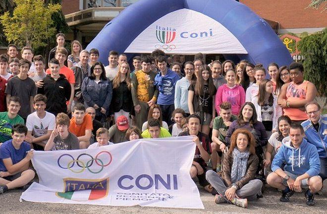 Gli studenti del Marconi  insieme al Coni per lo sport