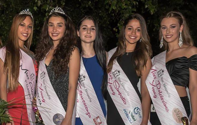 Vittoria Bricarello é Miss Alessandria, Lara Camparo Miss Young