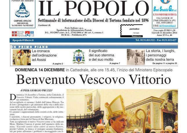 Venerdì a Tortona il Popolo Dertonino festeggia 120 anni