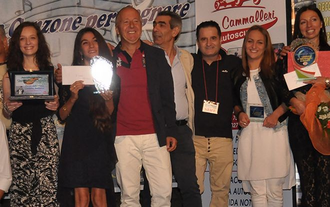 """A Piovera Gerardina Compierchio ha vinto la terza tappa di """"Una canzone per sognare"""""""