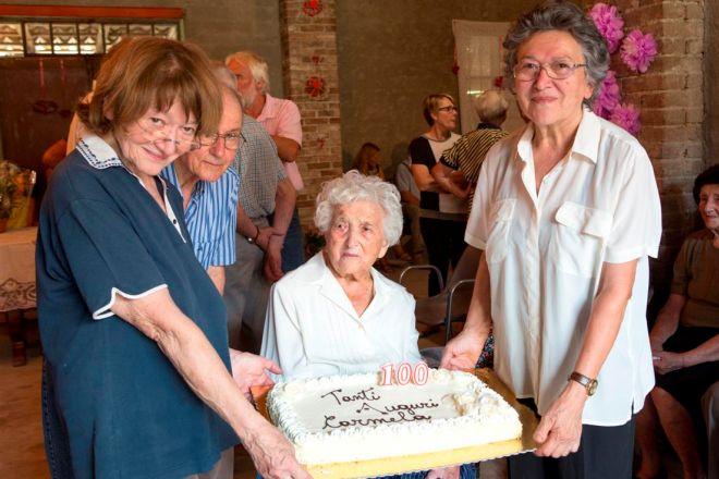 Festeggiata la centenaria di Gremiasco
