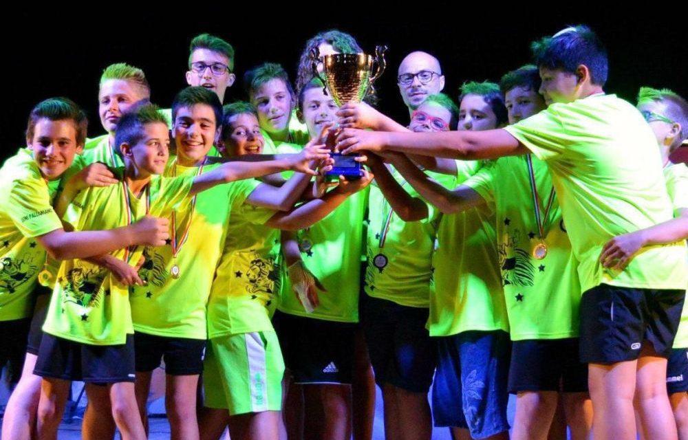 Campioni d'Italia i giovani tortonesi della Leoni Pallamano
