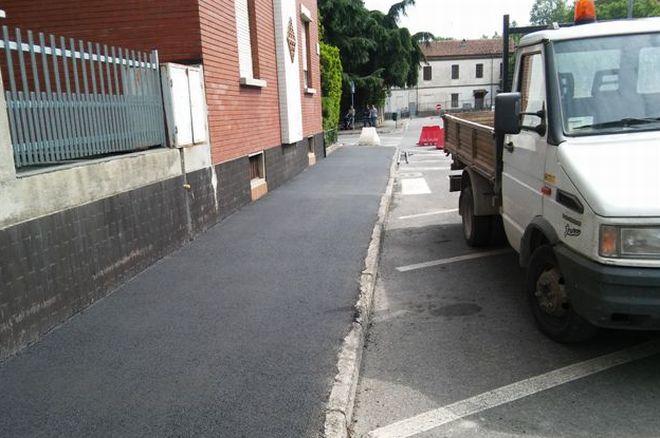 Proseguono i lavori sulle strade tortonesi