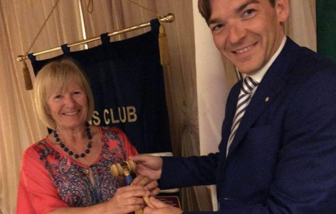 Alessandro Menini eletto nuovo Presidente Lions Club Voghera Castello Visconteo
