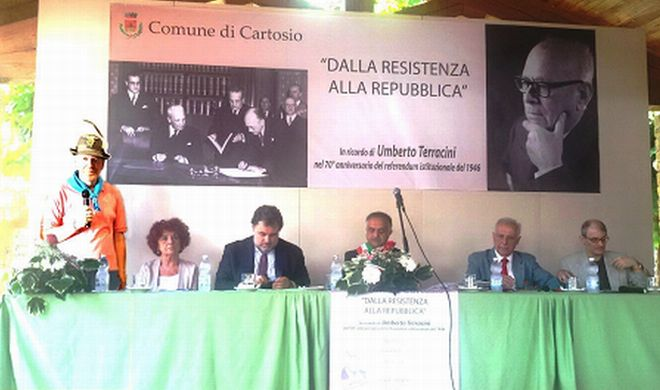 A Cartosio commemorato Umberto Terracini