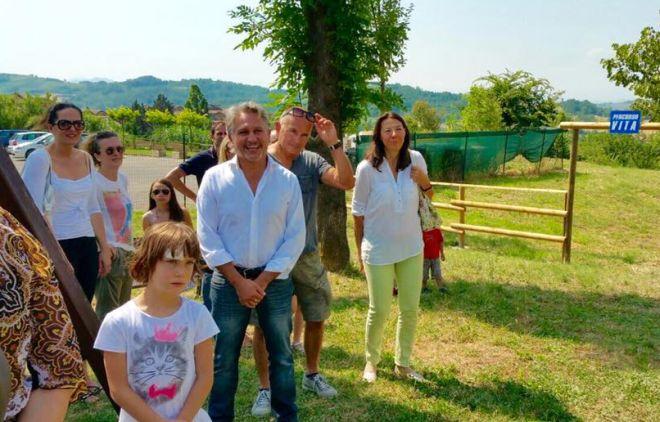 """A Vho inaugurato un """"Percorso Vita"""" grazie alla Fondazione Cassa Risparmio di Tortona"""