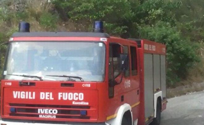Tortona, il temporale ha bloccato la viabilità in viale Coppi vicino al Liceo