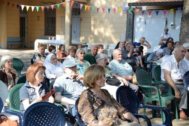 Tortona, a Villa Charitas celebrata la festa delle suore con tanti tortonesi