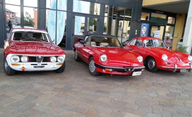 Mostra di auto sportive a Novi Ligure