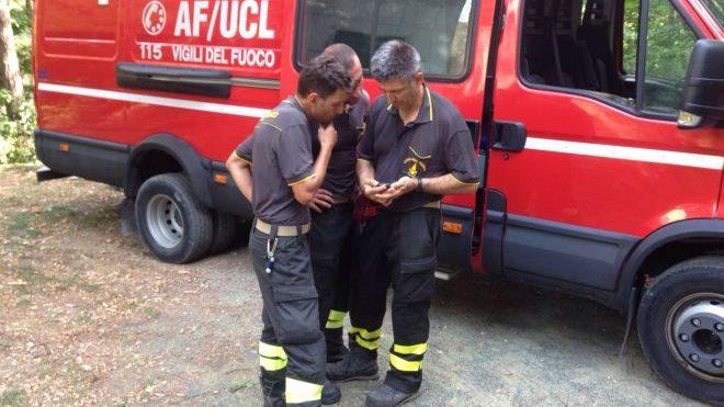 Una Pensionata cade in casa e i pompieri la salvano a fatica. Fuga di gas a Pontecurone