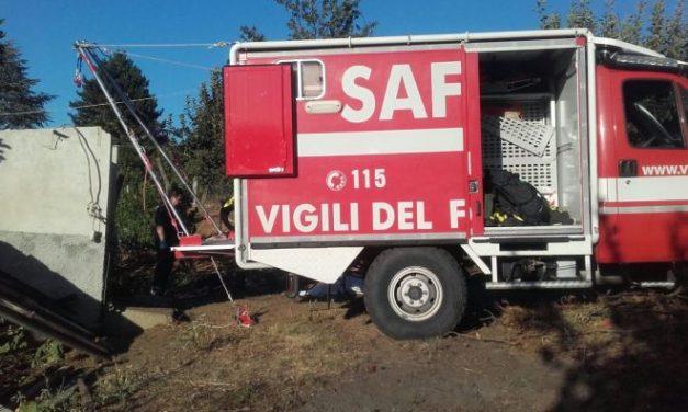 I Vigili del Fuoco di Alessandria nuovamente in centro Italia per il terremoto