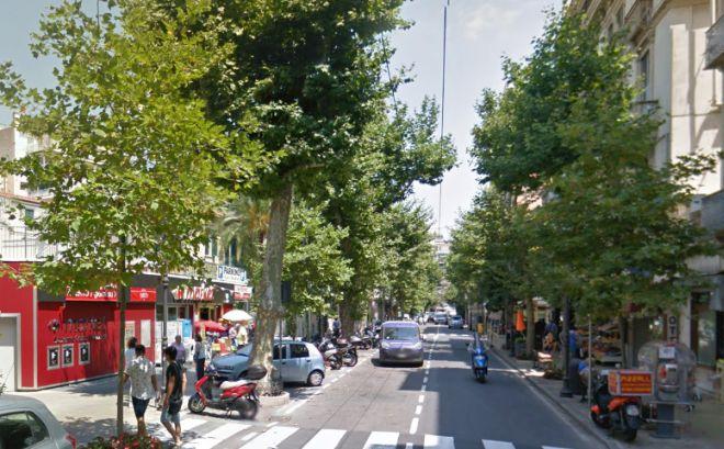 Corso Garibaldi a Sanremo