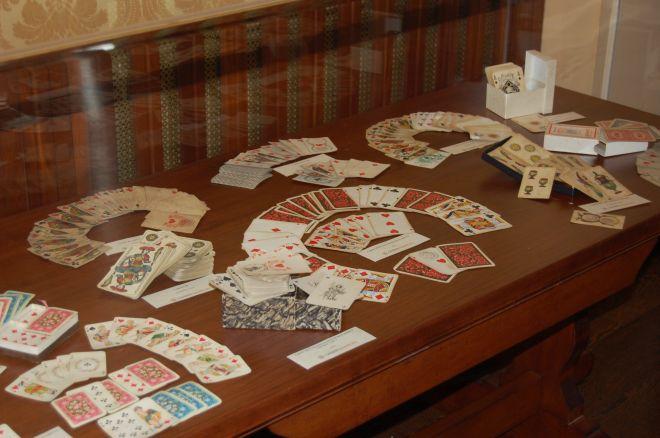 Alcune carte in mostra