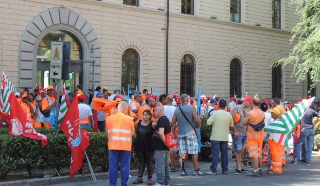 Crisi occupazionale Itinera a Tortona, primi spiragli