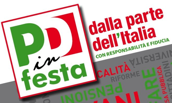 Venerdì a Novi Ligure inizia la Festa del Partito Democratico