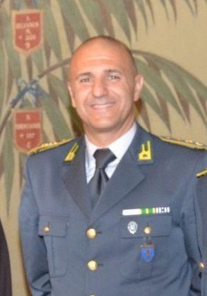 Il tenente colonnello Mario Pinzino