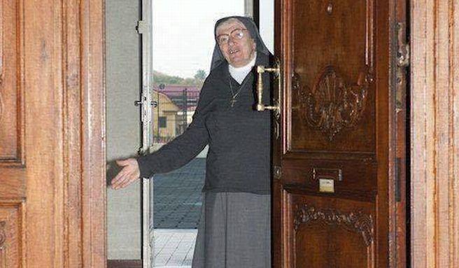 E' deceduta suor Caterina, la portinaia dell'istituto San Giuseppe di Tortona