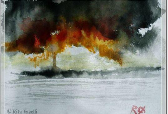 """A Voghera la mostra di pittura di Rita Vaselli: """"I giardini dell'anima """""""