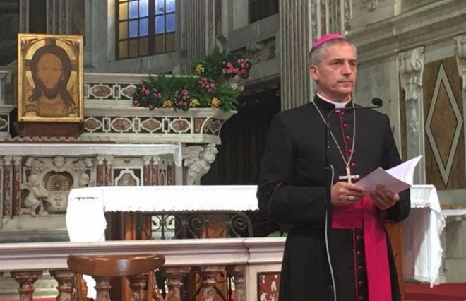 Il vescovo Vittorio Viola relatore a Genova al Congresso Eucaristico Nazionale