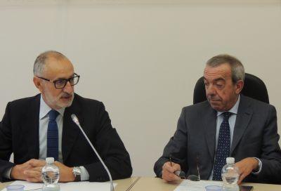 Il direttore Luigino Tosi e il presidente Paola Valvassore