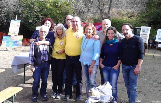 Un successo la festa della castagna a Diano Borganzo con 14 artisti