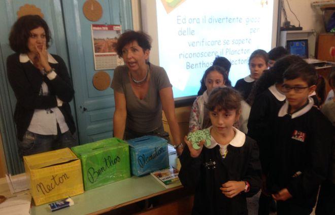 """L'Associazione Genitori @ttivi di Imperia ripropone il progetto """"Biologia marina e salvaguardia del mare"""" nelle scuole"""