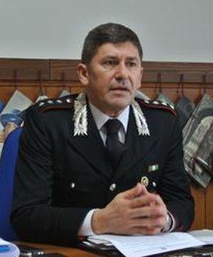 Il Comandante dei Carabinieri di Tortona maggiore Carlo Giordano